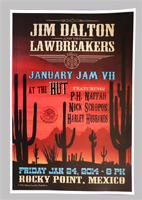 JD & the Lawbreakers poster